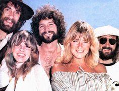 Mick Fleetwood, Stevie Nicks, Lindsey Buckingham, Christine McVie, John McVie fleetwood mac
