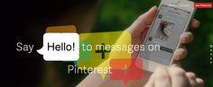 Pinterest lance son service de messagerie à partir des Pins