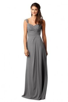 Love Grey Bridesmaid Dresses <3  :)