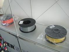 DMY-Festival - 3D-Drucker -> plastic strings for printing