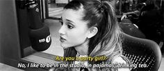 And she'd far rather be chilling in PJs than partying at the club. | 22 Times Ariana Grande Was Actually Pretty Damn Surprising
