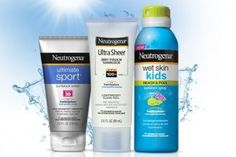 Neutrogena has the best sunscreen line and the Wet Skins for kids is the most amazing line ever.