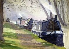 Canal boats - Andy Shore