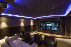 Home cinema star ceilings are part of Starscape's core business