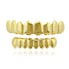 Fashion House Wife Gold/Silve Plated HIP HOP Teeth Grillz 8 Top & Bottom Teeth Set With Silicone Model Vampire Teeth Caps NL0015   Dream Jewelry Place. Find Earring, Necklace, Rings and More.