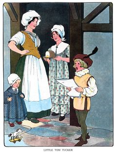 Little Tommy Tucker Mama Lisa S House Of English Nursery Rhymes 1 Story Poems Clip
