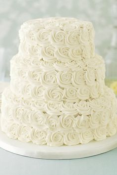 Wedding Magazine - Lookbook: floral cake ideas just add flowers that match my wedding colors