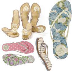 Chinelos, sapatilhas e rasteirinhas