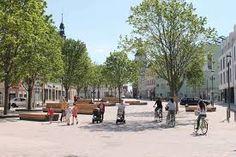 Image result for Marktplatz Schönebeck (Elbe),[1] erster Shared Space in Sachsen-Anhalt