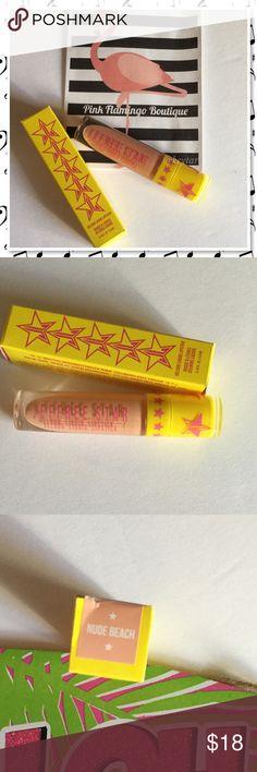 Selling this Jeffree Stars Nude Beach Liquid Lipstick and Bag on Poshmark! My username is: keytar. #shopmycloset #poshmark #fashion #shopping #style #forsale #Jeffree Star  #Other