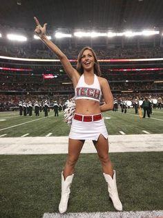 Texas Tech cheerleader smokinnnnn