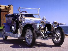 1907 Rolls-Royce Silver Ghost Touring Car Silver
