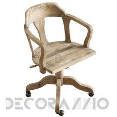 #wooden #eco #rustic #furniture #design #interior #armchair офисное кресло Dialma Brown DB, DB002027