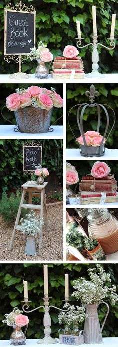 a wedding blog for gauteng brides: Vintage prettiness for your big day