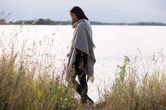 CORONA UNI shawl, 100% wool. Woven in Finland by Lapuan Kankurit.