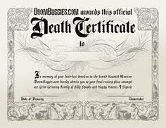 Why and When Are Death Certificates Necessary: As Death Certificate is a vital document, which is a proof of a person's death and is useful in legal matters like Claiming Life Insurance, Pensions, Settling Estates, Medicaid Benefits, Future Marriages. For more detail visit at: http://bit.ly/2xjRktC