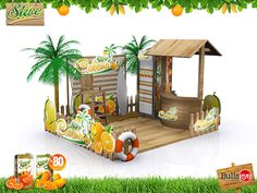 Orange Slice Cabana on Behance