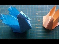 DIY Paper Crafts: How to Make an Origami Swan Box. Easy Tutorial - YouTube
