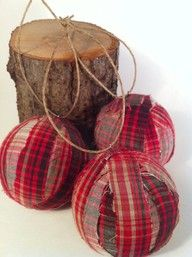 Flannel Ornaments