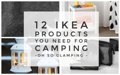 12 IKEA Products You Need For Camping – Oh So Glamping Camping Hacks, Camping Glamping, Camping Supplies, Camping Checklist, Camping Stove, Camping Essentials, Camping Gear, Outdoor Camping, Camping Guide