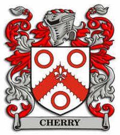 Cherry family crest
