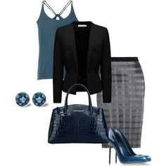 """""""Business attire"""" by bsimontwin on Polyvore"""
