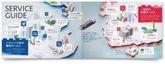 IoT AI 会社案内制作 会社案内 パンフレット専科 Atrium Design, Company Profile, Brochure Design, Editorial Design, Booklet, Icon Design, Gallery Wall, Layout, Flyer Design