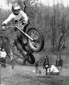 Brad Lackey By Shawn McDonald It is a privilege to introduce a man who broke down the European myth that an American could never be a world champion – that the golden prize trophy would always. Motocross Action, Enduro Motocross, Motocross Racing, Moto Bike, Motorcycle, Off Road Racing, Vintage Motocross, Dirtbikes, Cool Bikes