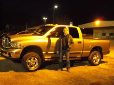 Blake Essington of Germantown, 2005 DODGE RAM 2500! Congratulations and best wishes from Hosick Motors, Inc. and Sales Pro Bryan Hobbie.