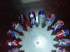 July 4th Nail Art | Nail Art Gallery