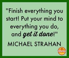LOVE this! Wise words from Michael Strahan! | via @SparkPeople #meta #metamucil #motivation #inspiration #quotes #motivationalquote