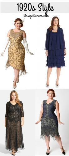 1920s plus size dresses, Great Gatsby, Downton Abbey, Miss Fishers Dresses