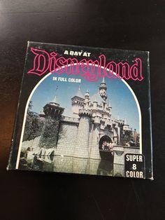Vintage A Day At Disneyland in Full Color Super 8mm Film by VintageDisneyana on Etsy