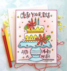 Happy Birthday Doodles, Happy Birthday Drawings, Happy Birthday Cards Handmade, Creative Birthday Cards, Birthday Card Drawing, Cute Easy Drawings, Cute Little Drawings, Art Drawings For Kids, Birthday Canvas