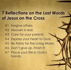 Reflect on the words of Jesus. Easter Bible Verses, Bible Scriptures, Bible Quotes, Easter Quotes, Godly Quotes, Bible Art, Words Of Jesus, God Jesus, Word Of God