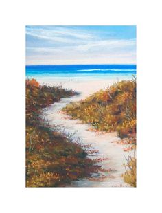 Beach Path by Natalie on Etsy~please click on through to see more in this fabulous beach collection!