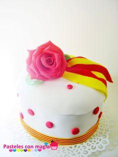 tarta diada de cataluña- cake national day of catalonia.
