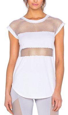 0e482b9f1bb39 89% polyamide , 11% elastane Sheer mesh contrast Athletic Wear, Gym Wear,