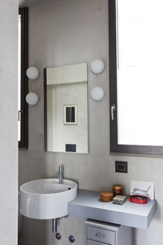 I want this sink for my powder room....Loftiness - desire to inspire - desiretoinspire.net