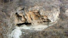 Cueva de Tianyuan, cerca de Pekín, donde se encontró uno de los humanos modernos más antiguos.
