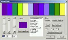 strata colors