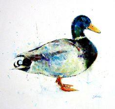 """""""Drake"""" 2012    acrylic on board  30 x 30 cm    www.stevenchristianreed.com"""