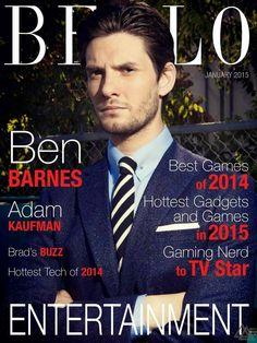 Ben Barnes para BELLO Magazine