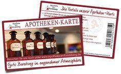 Kundenkarte für die Apotheke am Kreideberg
