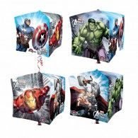 Shape Cubez Avengers x foil balloon. self sealing balloon, requires helium. Helium not included. Superhero Birthday Party, Boy Birthday, Birthday Parties, Balloon Arrangements, Foil Balloons, The Little Mermaid, Thor, Party Supplies, Marvel
