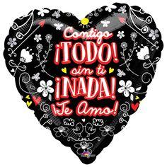 Mercadería nueva en #Globos Metalizados de #Amor varias medidas!!