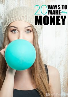 Here are 20 legitimate ways to make more money. I have personally done a bunch of these jobs and can tell you that you can actually make money from home with these ideas.