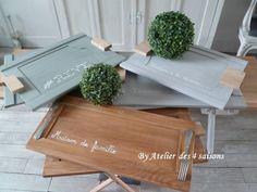 #Plateaux bois réalisés par l'#Atelierdes4saisons, des pièces uniques pour un intérieur unique.