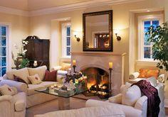 Fresh Warm Living Room Decor