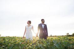 eco-friendly wedding day - wedding couple at heritage prairie farm - elite photo